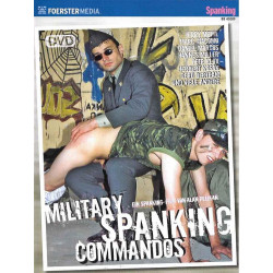 Military Spanking Commandos DVD (15611D)
