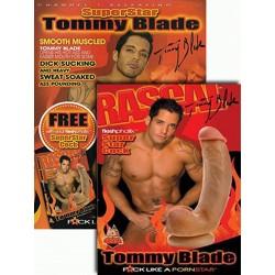 SuperStar Tommy Blade FleshPhallix Penis & DVD-Set (16014D)