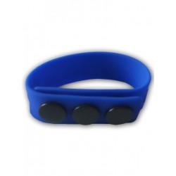 Sport Fucker Silicone Cock Strap Blue (T4891)