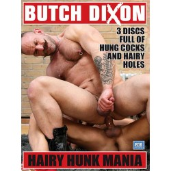 Hairy Hunk Mania 3-DVD-Set (13330D)