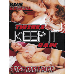 Twinks Keep It Raw 3-DVD-Set (16413D)