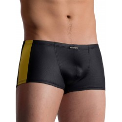 Manstore Micro Pants M758 Underwear Black/Yellow (T5770)