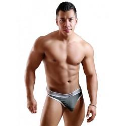 GBGB Carter Strapless Flyer Underwear Charcoal (T5271)