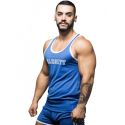 Andrew Christian Varsity Mesh Tank Top Royal (T5462)