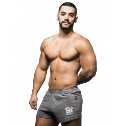 Andrew Christian Phys Ed. Shorts Vintage Heather Grey