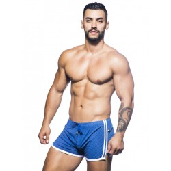Andrew Christian Varsity Mesh Shorts Royal Blue