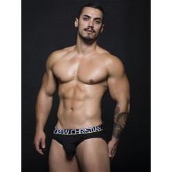 Andrew Christian Almost Naked Tagless Cotton Brief Underwear Black (T5469)