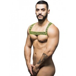 Andrew Christian FUKR Masc Harness Black/Yellow