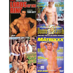 Big Blue Young Gods Banging 4-DVD-Set
