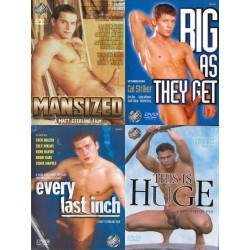 Matt Sterling Size Matters 4-DVD-Set
