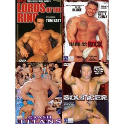 Big Blue Hard Muscles Playing 4-DVD-Set (16608D)