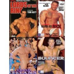 Big Blue Hard Muscles Playing 4-DVD-Set (16608D)