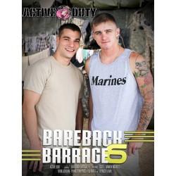 Bareback Barrage #6 DVD (16571D)