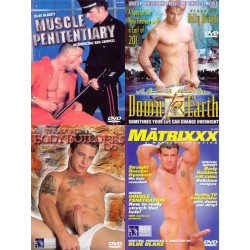 Big Blue Straight Guys Fucking 4-DVD-Set (16610D)