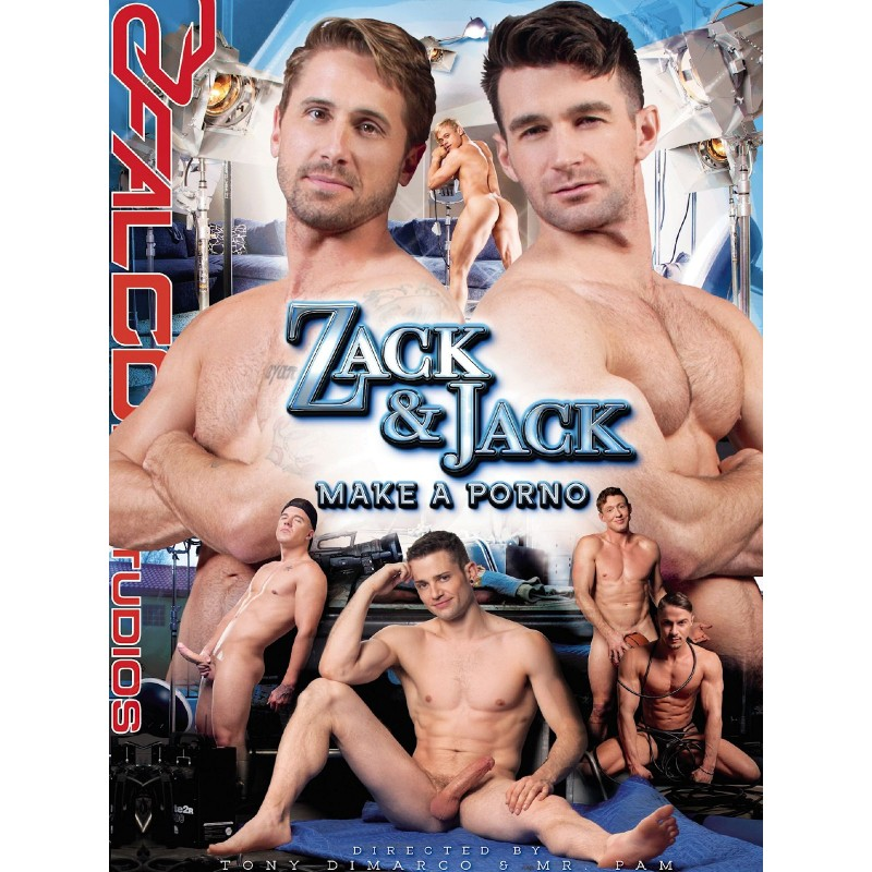 Zack And Jack Make A Porno DVD (Falcon)
