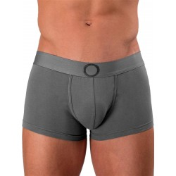 Rounderbum Colors Padded Boxer Trunk Underwear Dark Grey (T5959)