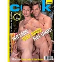 Cock 408 Magazine + DVD (M1708)