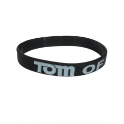 Tom of Finland Bracelet Silicone Black (T5840)