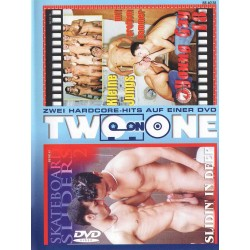 Two On One (Skateboard Sliders #2 + Young Gay 18) DVD (15751D)