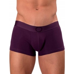 Rounderbum Colors Lift Boxer Trunk Underwear Purple (T5965)