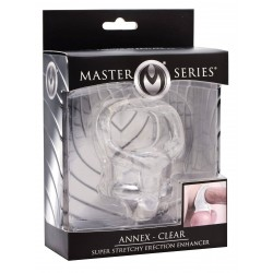 Master Series Annex Super Stretchy Erection Enhancer Clear (T5734)