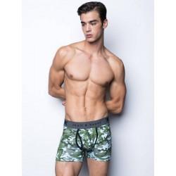 Skull & Bones Camo Trunk Underwear Green (T6035)
