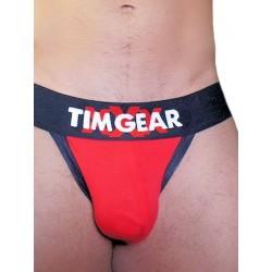 TIM Gear XXX Jockstrap Underwear Red (T3212)