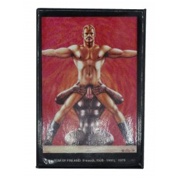 Tom of Finland Magnet Vitruvian Man (T5814)