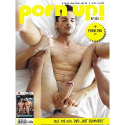 PornUp 153 Magazine + Hot Summers DVD (M0253)