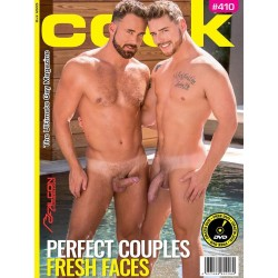 Cock 410 Magazine + DVD (M1710)