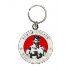 Tom of Finland Muscle Academy Key Ring (T5856)