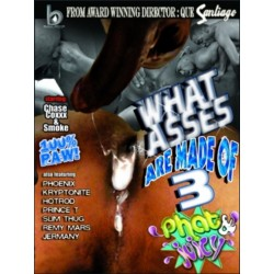 What Asses are Made of 3: Phat and Juicy DVD (07528D)