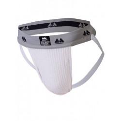 MM The Original Jockstrap Underwear White/Grey 2 inch (T6224)