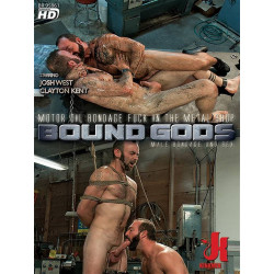 Motor Oil Bondage Fuck in the Metal Shop DVD (17062D)