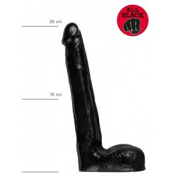 All Black Dildo 21 x 3,5 cm (T6232)