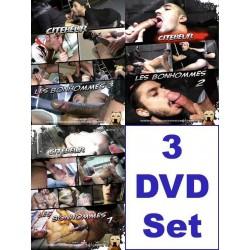 Les Bonhommes 1-3 3-DVD-Pack (17036D)