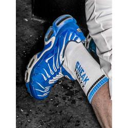 Sneak Freaxx Black & Blue Socks White One Size (T6214)