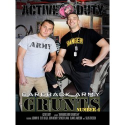 Bareback Army Grunts #4 DVD (17023D)