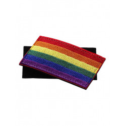 Rainbow Klett / Velcro Patch 8 x 5 cm (T6308)
