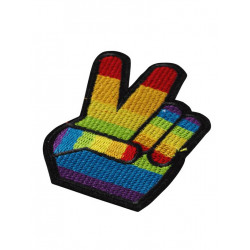 Rainbow Victory Ironing Patch (T6310)