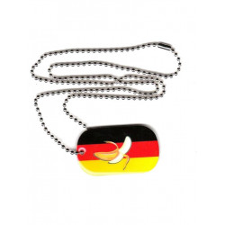 Dog Tag Banana Germany (T6244)