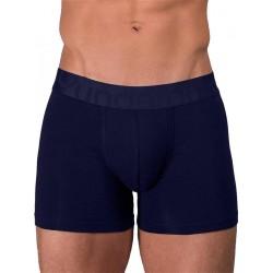Rounderbum Padded Boxer Brief Underwear Navy Blue (T6345)