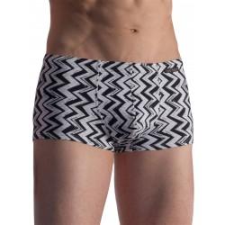 Olaf Benz Beachpants BLU1856 Swimwear ZigZag Black/White (T6368)