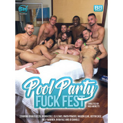 Pool Party Fuck Fest DVD (17352D)