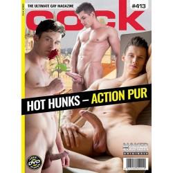Cock 413 Magazine + DVD (M1713)