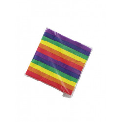 Rainbow Napkins / Servietten 20-pack (T6322)