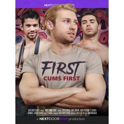 First Cums First DVD (17228D)