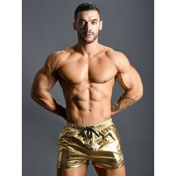 Andrew Christian Golden Boy Swim Shorts Swimwear (T6488)