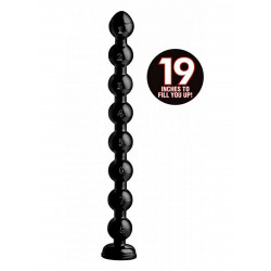 Hosed Beaded Thick Anal Snake 19inch (T6578)