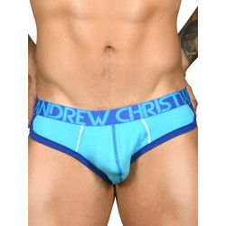 Andrew Christian Show-It Retro Pop Brief Aqua (T6540)